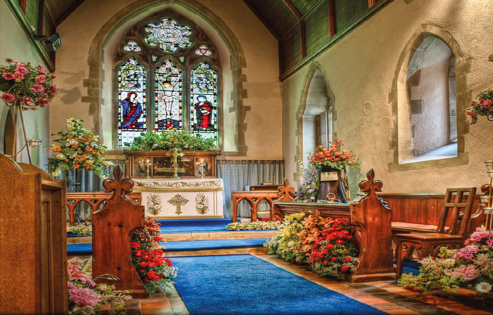 South Holland Church Flower Festival